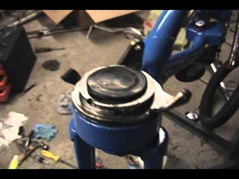 Dahon Classic Iii Folding Bike Rebuild Part 7 Youtube
