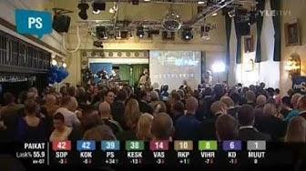 Eduskuntavaalit 2011 Yle - Tulosilta Osa 7