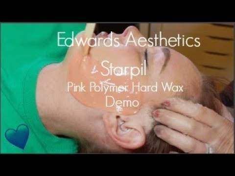 Edwards Aesthetics  Starpil Pink Polymer Wax