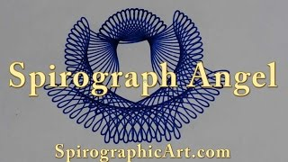 Two-Rack Spirograph: The Angel Design