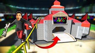 I SKATED MARIO'S CASTLE?! (Skate 3)