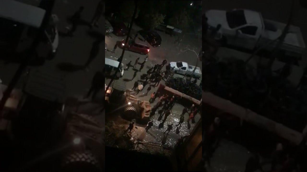 تكسير و تشميع كافيه حسن شاكوش ليلة افتتاحه بمدينة نصر