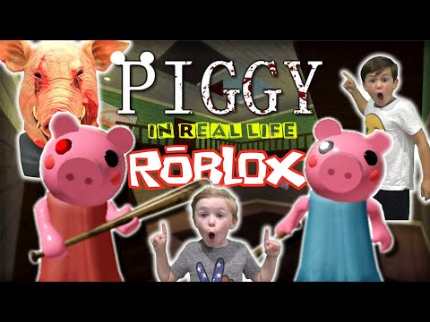 Roblox Piggy In Real Life - Will The Scary Pig Get Us?