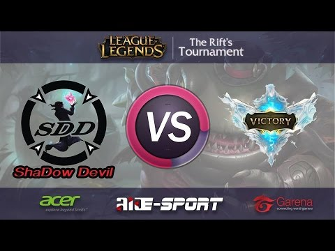[ Game 1 ] VTR vs SDD - Group Stage - The Rift's Tournament by Laos E-sport