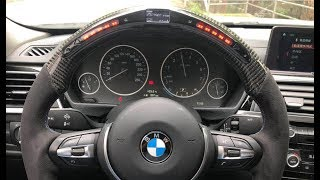 How To Install Led Steering Wheel For Bmw Performance From Ohc Motors