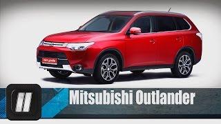 """Mitsubishi Outlander 2014.  """"Две Лошадиные Силы"""""""