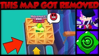 That's Why This Map Got Replaced | Brawl Stars Mapmaker Winner Map Cheese