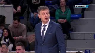 KUP RADIVOJA KORAĆA: Četvrtfinale 2 Partizan - Novi Pazar /14.02.2019.