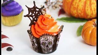 Шоколадные Капкейки с шоколадом. Украшение капкейков