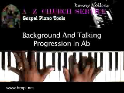Learn Gospel Piano Background Talking Music