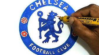 How to Draw the Chelsea F.C. Logo