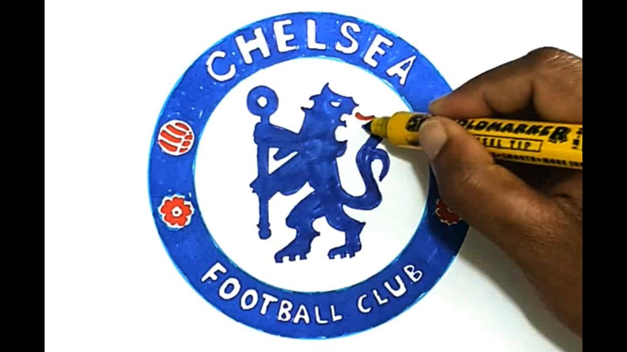 How To Draw The Chelsea F C Logo