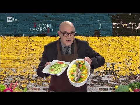"""Maurizio Crozza - Lo chef vegano """"Germidi Soia"""" - Che fuori tempo che fa 09/10/2017"""