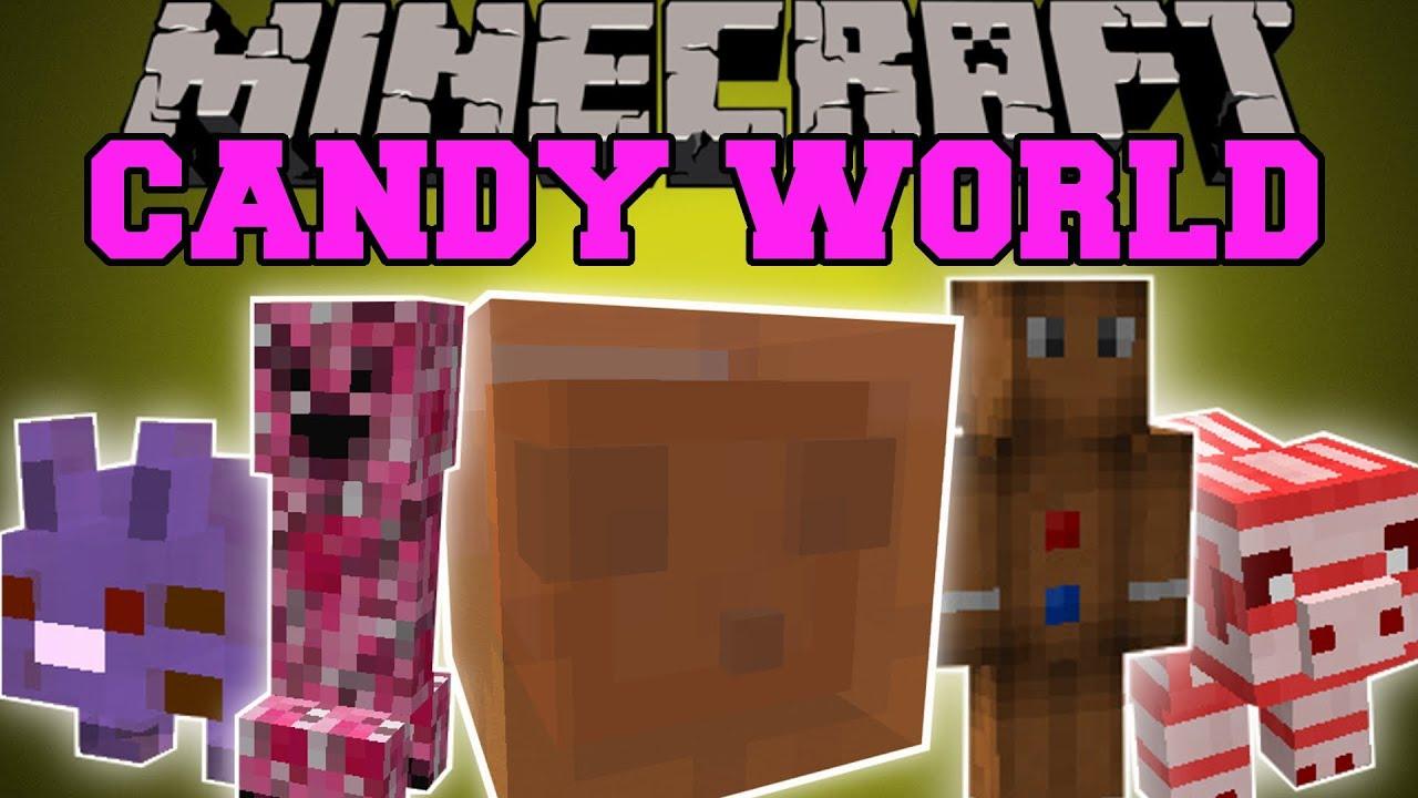 Candy Craft Mod