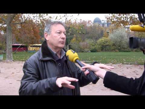 Interview Marc Giraud lors de la manifestation anti-loup des éleveurs à Paris le 27-11-2014