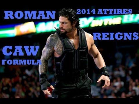 WWE2K14 Roman Reigns CAW Formula