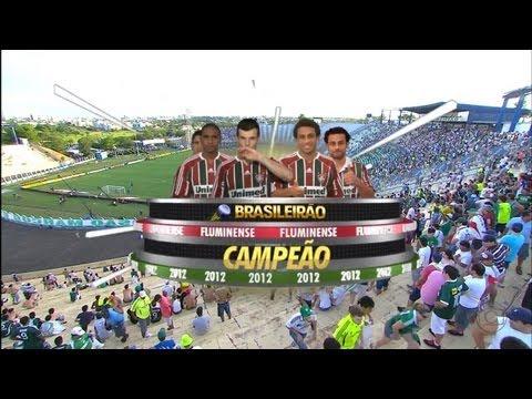 Palmeiras 2x3 Fluminense - Brasileirão 2012 2º Tempo - Fluminense Tetra Campeão - HD 1080i