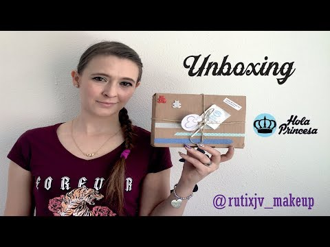 UNBOXING HOLA PRINCESA (colaboración)