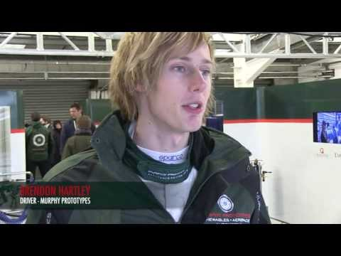 Brendon Hartley - Post Race Interview / ELMS Round 1 Silverstone