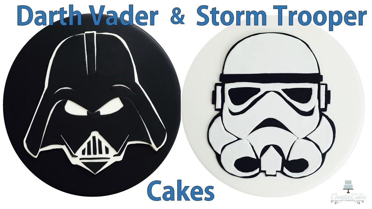 How To Make A Darth Vader Cake Topper