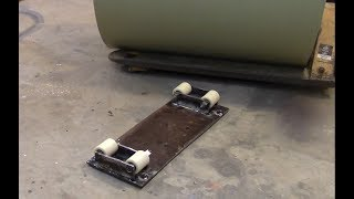 Pex Tubing Uncoiler DIY Cheap Easy To Make No Kinks