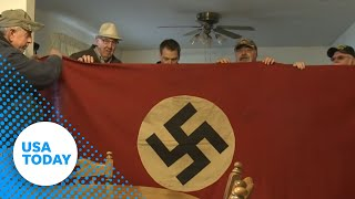 How a Nazi flag is being used to help veterans
