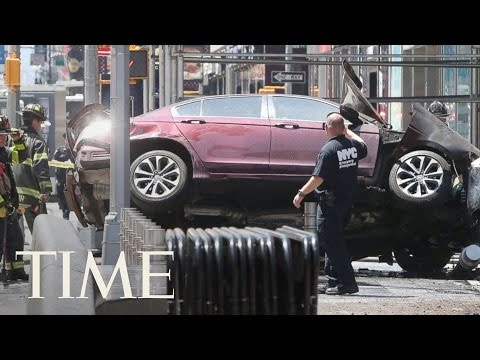 Live From New York City After A Car Plows Into A Crowd In Times Square | TIME