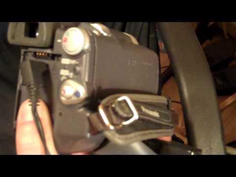 Panasonic PS GV9 Still shows Push the reset button