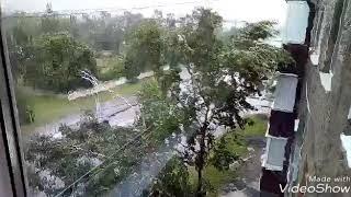Тайфун Джеби 05.09.18 о. Сахалин. Typhoon Jeby. Sakhalin island.