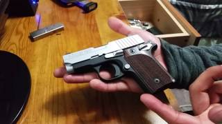 SIG P238 quick view and disassembly/assembly