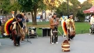 СПб метро Горьковская 16 09 2013 Otavalos Indians и Andean Spirit