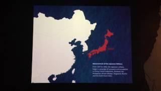 シンガポール国立博物館の日本侵略映像