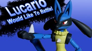 Super Smash Bros. Stop Motion: Lucario