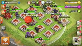 ALL HEROES vs INSANE BASE   Clash Of Clans   SPECIAL TOWERS Download  2017