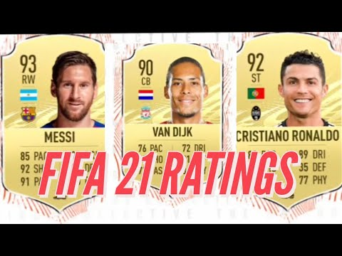 FIFA 21 ratings: Messi beats Ronaldo as best player in new game as ...