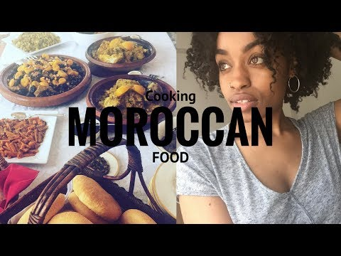 I Learned How To Cook Moroccan Food!