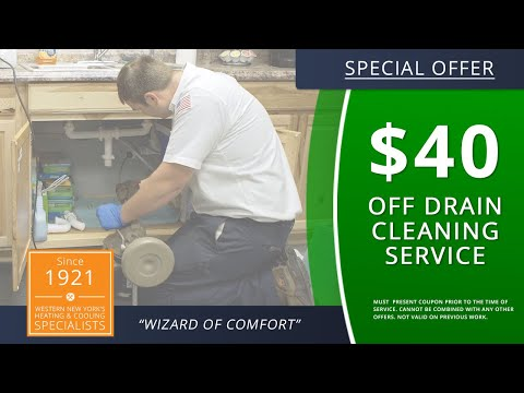 Buffalo Drain Cleaning Clogged Drains Removal In New York