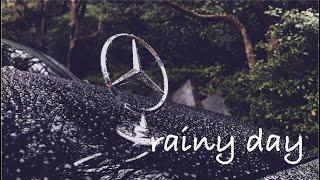 【rainy day】雨の日の愛車メルセデスベンツS400h