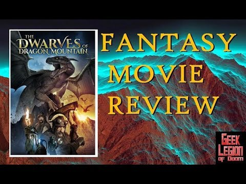 DRAGON MOUNTAIN ( 2018 John Hutton ) aka THE DWARVES OF DEMREL Fantasy Movie Review