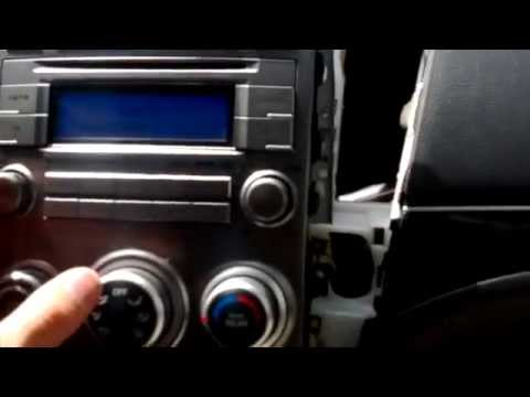 Hyundai Veracruz Radio Removal and iSimple Aux Installation