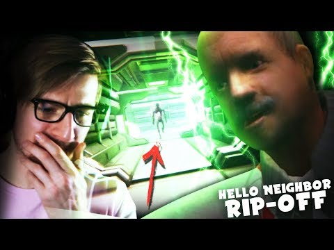 OK.. WHAT'S WITH THIS CREEP?! (oof) || Big Fat Neighbor (Hello Neighbor Rip-Off)