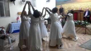 Coreografia Varão de Fogo- Lauriete- Grupo sal da Terra Assembléia de Deus, Ministério Luz do Mundo