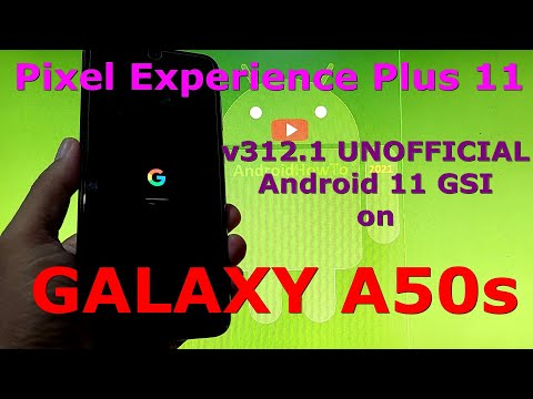 Pixel Experience Plus 11 v312.1 on Samsung Galaxy A50s GSI ROM