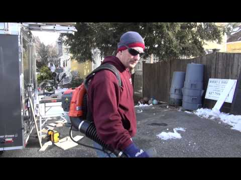 Husqvarna 130BT Backpack Blower Review