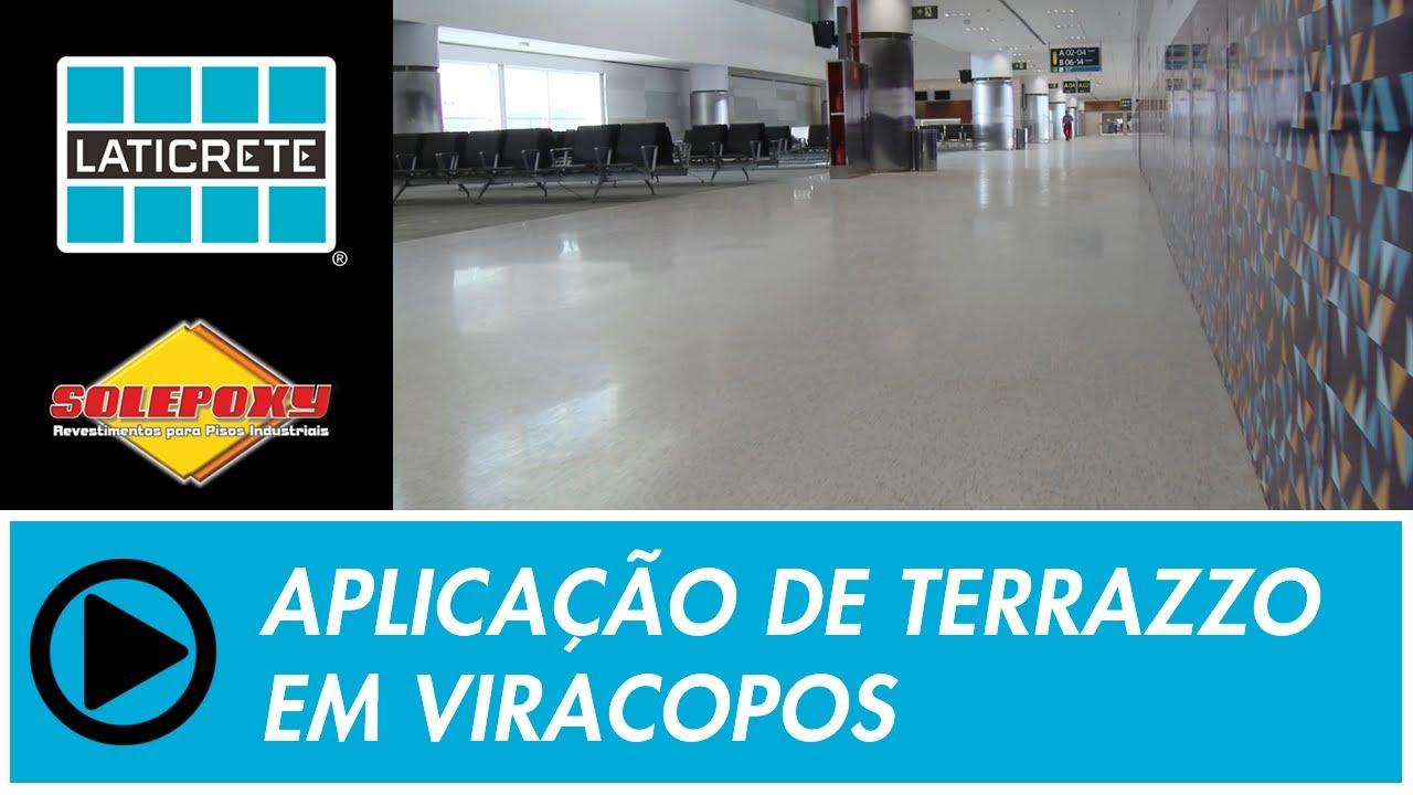 Aeroporto Viracopos : Obra de terrazzo aeroporto viracopos em campinas