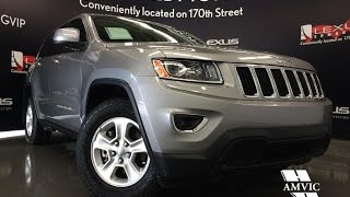 Used Silver 2015 Jeep Grand Cherokee 4WD Laredo Review | Airdrie Alberta