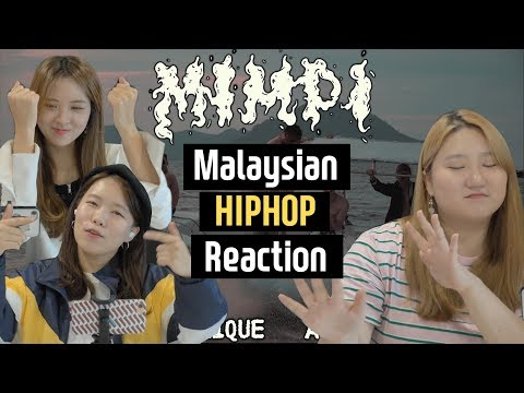 Korean Girls React To Malaysian Style Hip-hop, K-Clique 'Mimpi' L Blimey