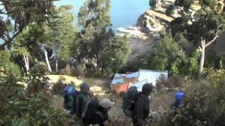alta via bolivie 2011 la paz lac titicaca isla del sol