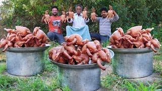 Traditional Chicken Biryani By Our Grandpa | Full Fried Chicken Biryani Recipe / Grandpa Kitchen