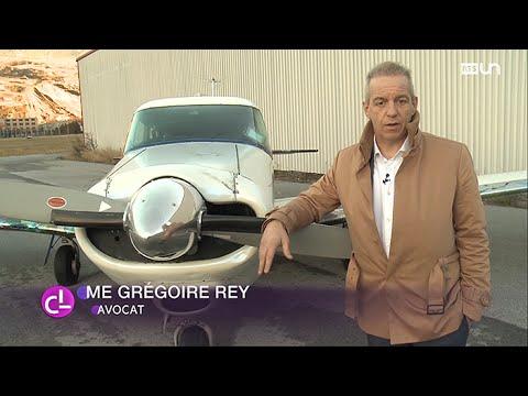 Pendulaire atypique: Grégoire Rey se rend de Genève à Sion en avion